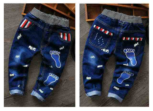16261 .pant jeans boys foot