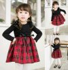 Dress Plaid Cantik