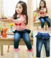 Kode 15123 : Girl Jeans Pant Light Blue