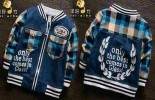 Boys Jacket Kombinasi Jeans & Cotton Blue
